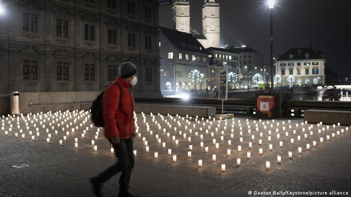 свечи в Цюрихе