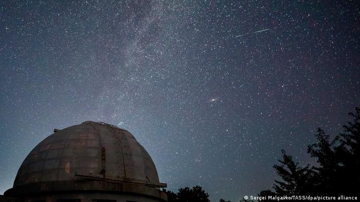 Krim | Perseiden-Meteoritenschauer