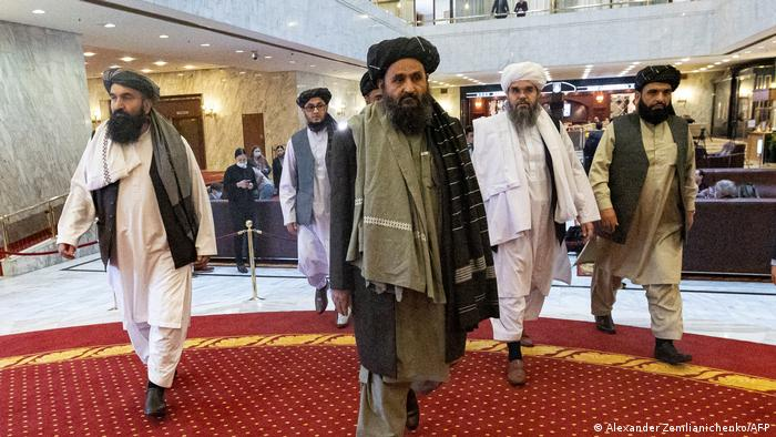 Taliban leaders in Moscow