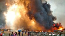 Bangladesch Feuer in Cox's Bazar
