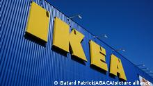 Closed since the start of containment, the international brand IKEA reopened its store in Toulouse (France) on May 25, 2020. Many customers gathered 1 hour before opening to access the 2,400 m2 of sale area. Photo by Patrick Batard/ABACAPRESS.COM