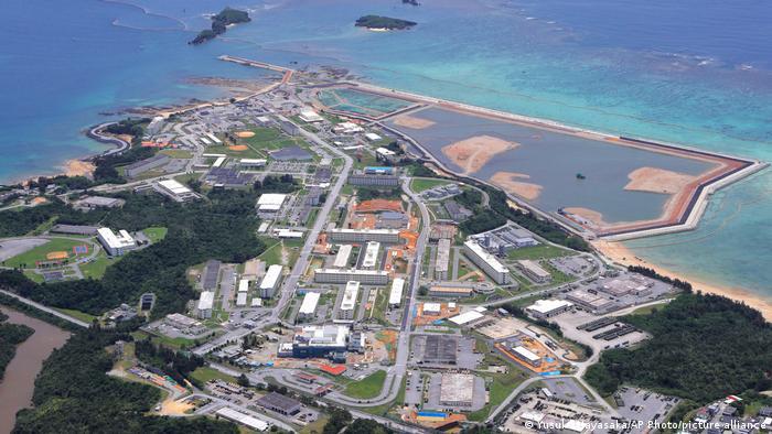 Japan Okinawa US Militärbasis |