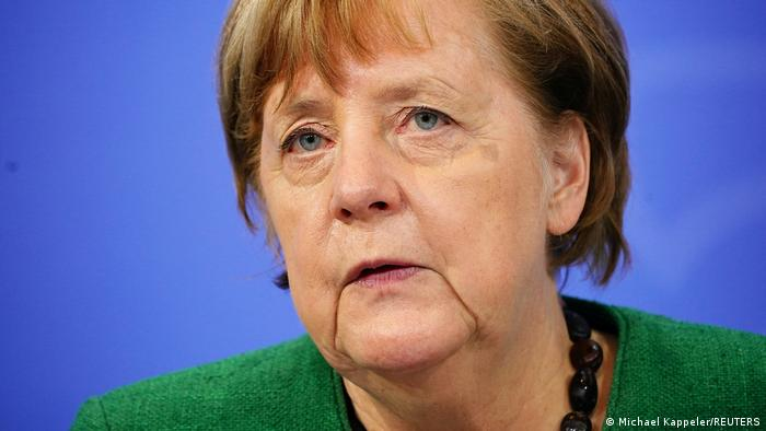 Deutschland | Nach Beratungen von Bund und Ländern | Bundeskanzlerin Angela Merkel | Pressekonferenz