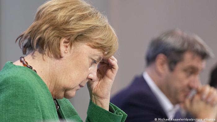 Deutschland - Coronavirus - Beratungen von Bund und Ländern - Pressekonferenz