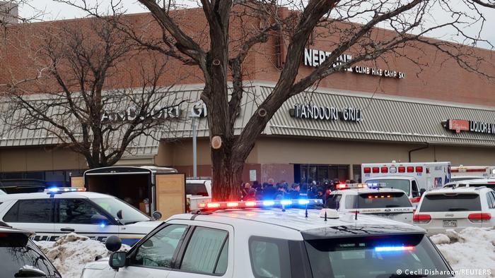 Полиция Колорадо на месте преступления