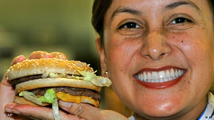 Flash-Galerie Symbolbild Fastfood von McDonalds