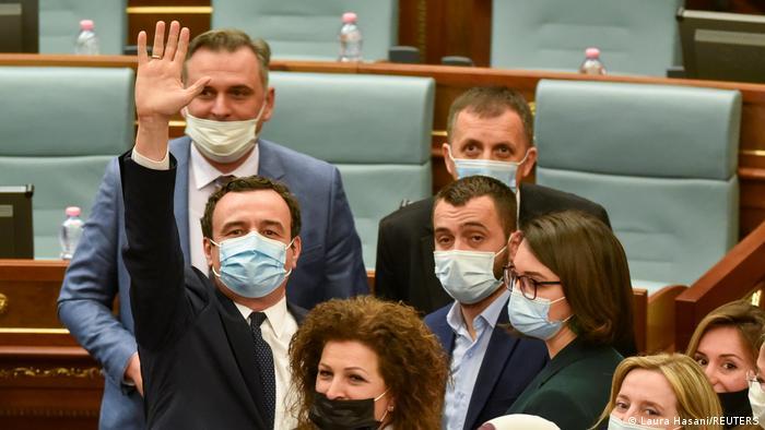 Aljbin Kurti je novi premijer Kosova