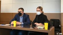 Russland Gerichtsverhandlung in Moskau zu Lyubov Sobol
