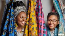 Mosambik Frauen Textil