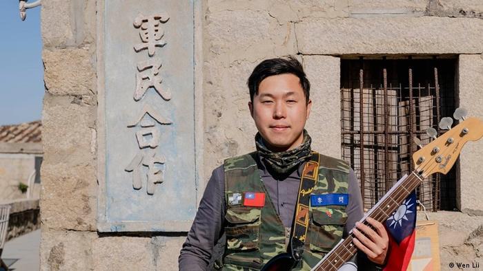 Taiwan l Wen Lii 2020 im Wahlkampf auf Matsu