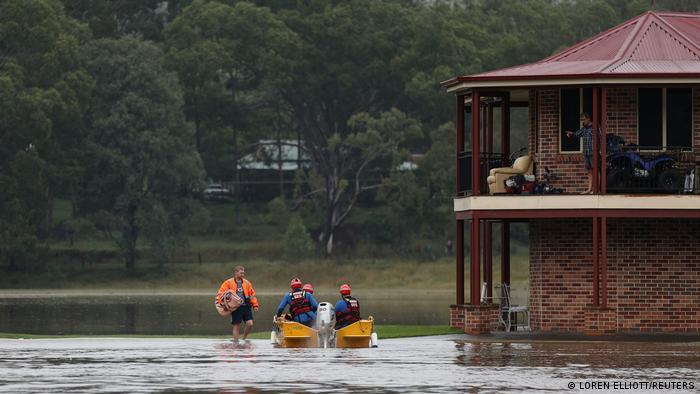 Australien Überflutung