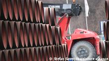Deutschland Russland l Gaspipeline Nord Stream 2, Hafen Mukran