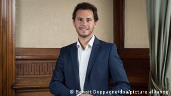 Belçikalı milletvekili Samuel Cogolati