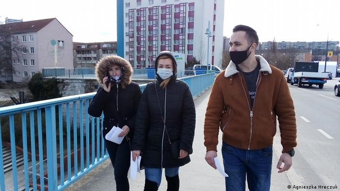 Deutschland Polen l Coronavirus - Tomasz hat Test gemacht