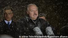 Khatyn Jahrestag des Massakers in Belarus