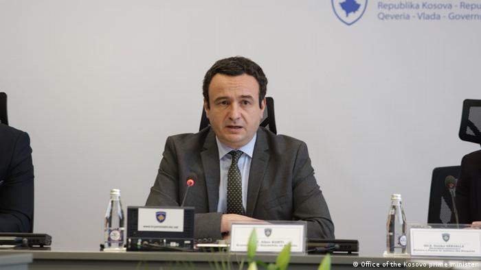 Kosovo Premierminister Albin Kurti