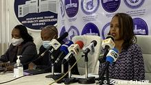 Addis Ababa City Housing Administration head, Dr Meskerem Zewde and her experts. 23.03.21 Schlagworte: Äthiopien,Addis Abeba