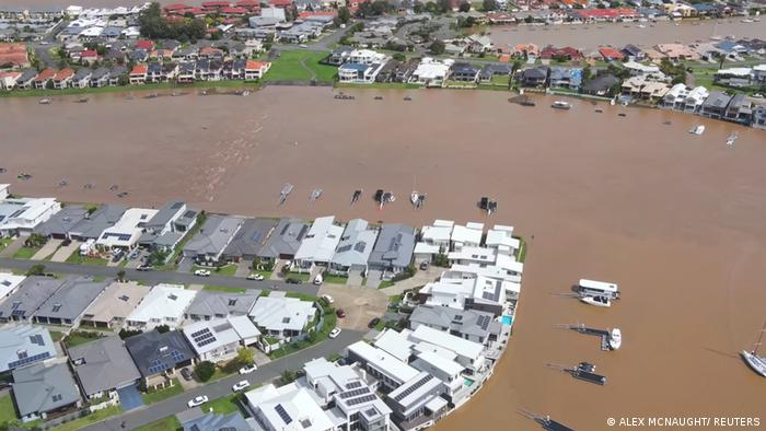 Australien Überflutung Flut