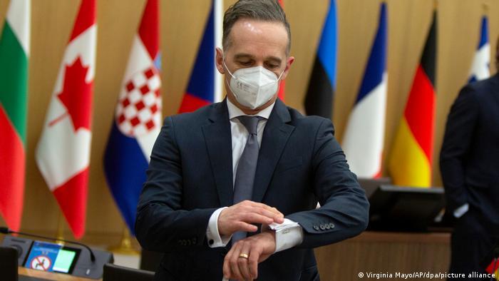 Belgien NATO l Tagung der Nato-Außenminister in Brüssel, Heiko Maas