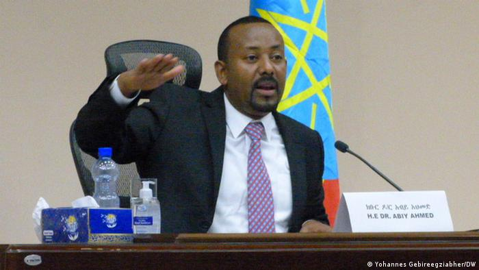 Äthiopien Premierminister Abiy Ahmed Parlament
