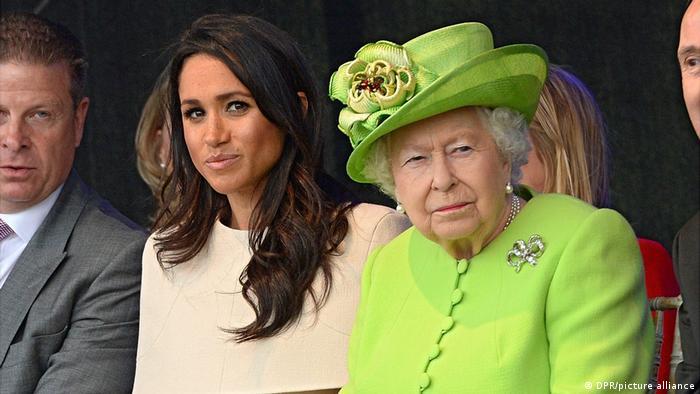 Die Königin und Meghan Besuch Cheshire