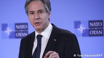 Belgien Treffen der NATO-Außenminister in Brüssel Antony Blinken