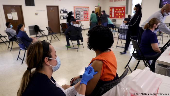 Corona Impfzentren in den USA