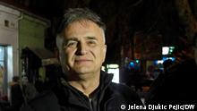 Serbien Schauspieler und Oppositioneller Branislav Lecic