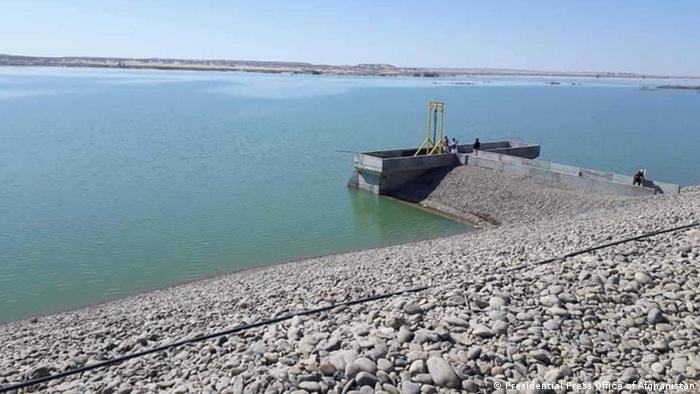 Afghanistan Eröffnung Kamal Khan Staudamm