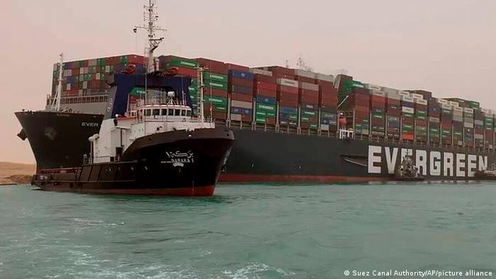 کشتی کانتینری اورگرین و مسدود شدن کانال سوئز، ۲۴ مارس ۲۰۲۱