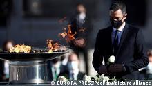 Bildergalerie | Gedenken und Trauer um die Toten der Pandemie | Europa