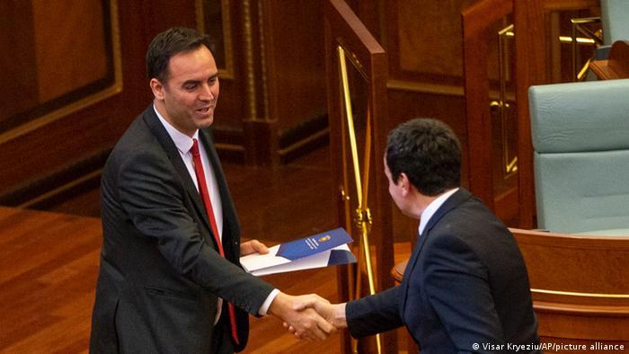 Kosovo Glauk Konjufca Parlamentspräsident