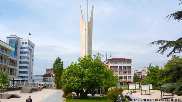 Kosovo Pristina Stadansicht
