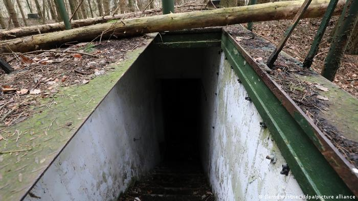 Заброшенный бункер около Хоэнцирица