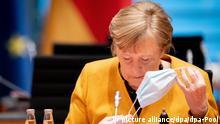 Berlin Kanzlerin Merkel vor Kabinettssitzung