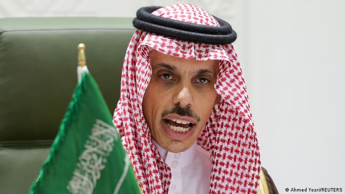 Saudi Arabien Riad | Außenminister Faisal bin Farhan Al Saud