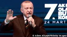 Türkei AKP Partei Kongress Türkei AKP Partei Kongress