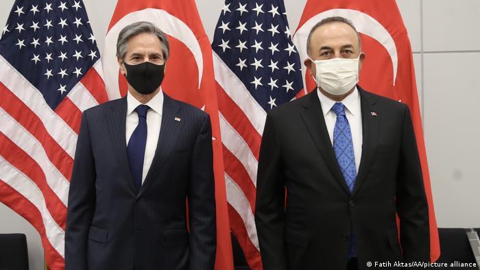 ABD Dışişleri Bakanı Blinken ve Türkiye Dışişleri Bakanı Çavuşoğlu