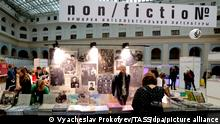 Russland I Non fictional Buchmesse in Moskau