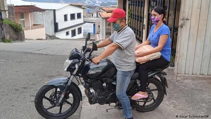 Menschen im Grenzgebiet Venezuela / Kolumbien
