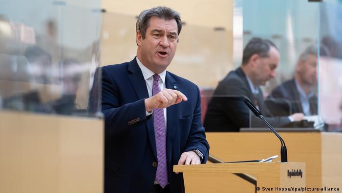 ماركو زودر (الاتحاد الاجتماعي المسيحي) رئيس حكومة ولاية بافاريا والمرشح لخلافة ميركل في منصب المستشارة