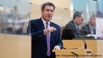 Bavyera Eyaleti Başbakanı Markus Söder