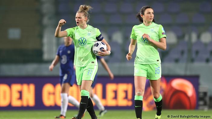 UEFA Champions League für Frauen |  Chelsea FC gegen VfL Wolfsburg