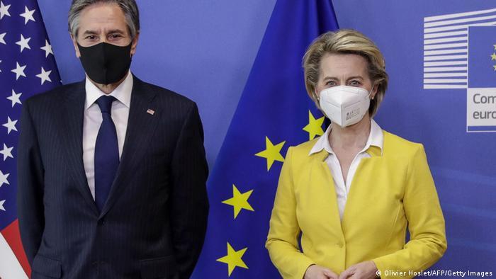ABD Dışişleri Bakanı Antony Blinken, bugün Avrupa Birliği Komisyonu Başkanı Ursula von der Leyen