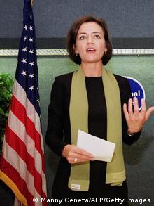 Margrethe Vestager in Washington, D.C. in 2000