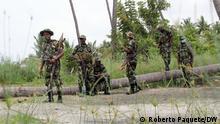 BG I Alltag und Militarismus in Cabo Delgado
