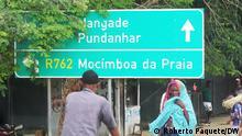 Roberto PaqueteLocalidade de Palma Cabo Delegado (1) Title: Road sign Cabo Delgado Keywords: Nangade, Pundanhar, Mocimboa da Praia Place: Palma, Cabo Delgado province, Mozambique / Mosambik Photographer: Roberto Paquete Date: 07/03/2021 Description: Road sign pointing to Nangade, Pundanhar and Mocímboa da Praia along the national road R 762 in Palma, Cabo Delgado province.--- via Johannes Beck