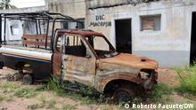 Rastos dos terroristas no distrito de Macomia