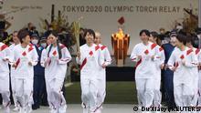 Japan Start olympischer Fackellauf