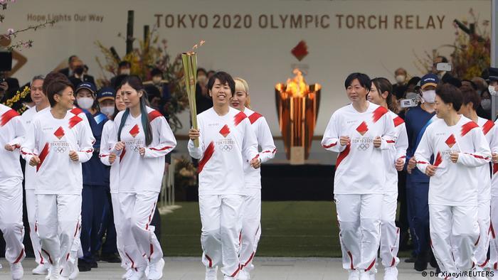 Estaet obor Olimpiade Tokyo 2020 resmi dimulai pada Kamis (25/03)
